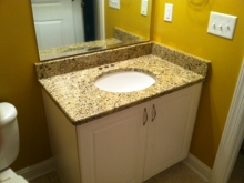 Bathroom Vanity -Granite
