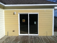 Door and Siding After