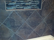 Shower Tile and Tub Finished